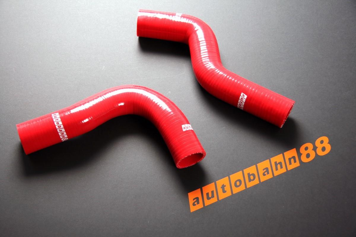 Autobahn88 Silicone Radiator hose kit for Subaru Impreza WRX / WRX STi GC8 92-00 Red - ASHK01A-R