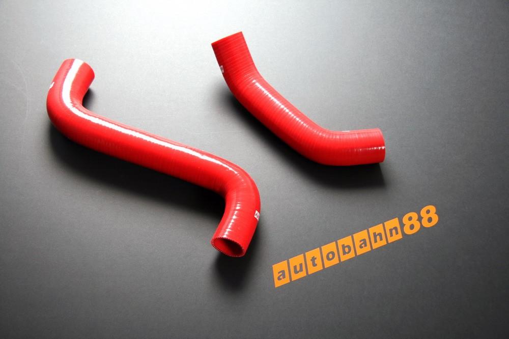 Autobahn88 Silicone Radiator hose kit for Subaru Impreza WRX / WRX STi GDB 00-07 Red - ASHK02-R