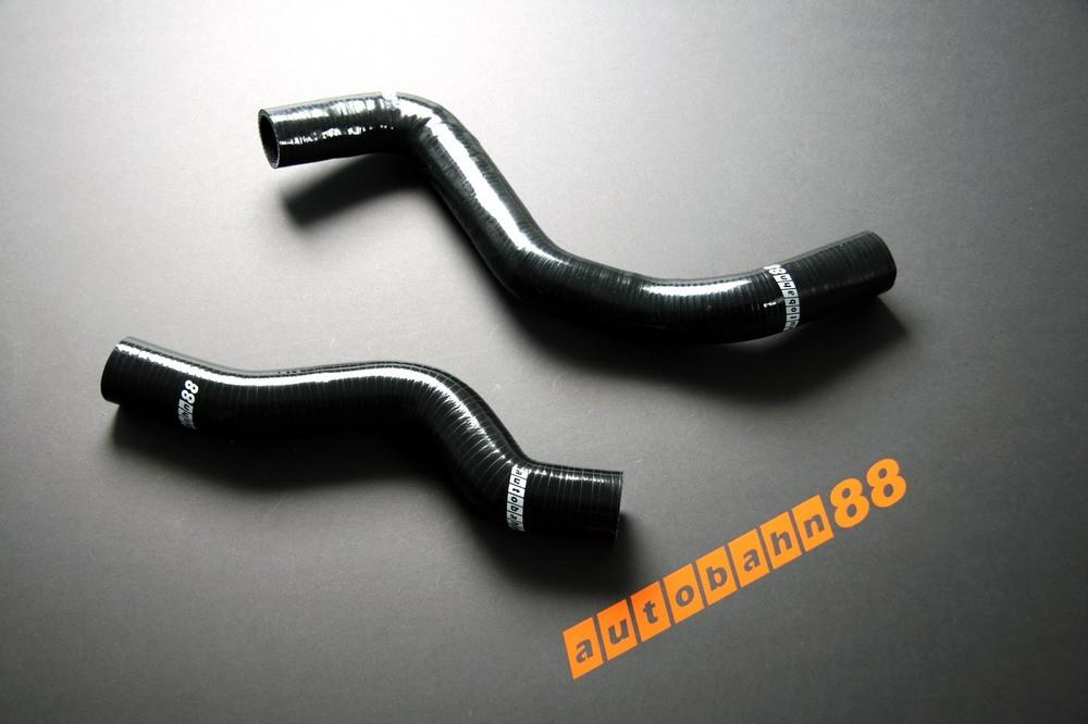 Autobahn88 Silicone Radiator hose kit for Mitsubishi Lancer Evolution VI(6) Black - ASHK07-BK