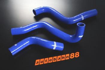 Autobahn88 Silicone Radiator hose kit for Mazda RX8 SE3P Blue - ASHK100-B