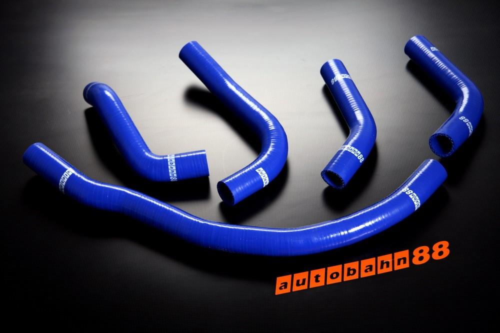 Autobahn88 Silicone Radiator hose kit for Toyota MR2 SW20 Blue - ASHK105-B