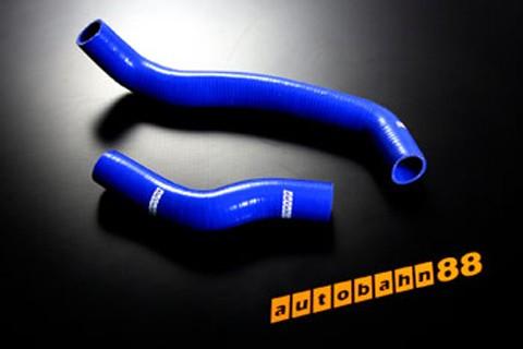 Autobahn88 Silicone Radiator hose kit for Nissan Primeraa P11 Blue - ASHK115-B