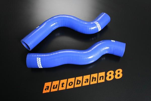 Autobahn88 Silicone Radiator hose kit for Lancia Delta Integrale 16V MKII Blue - ASHK126-B