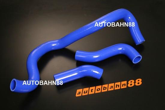 Autobahn88 Silicone Radiator hose kit for VW Bora/GOLF JETTA IV 1.8T 99-05 Blue - ASHK135-B