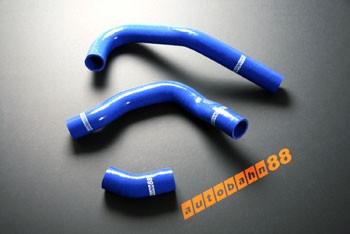 Autobahn88 Silicone Radiator hose kit for Nissan Silvia S13 ca18det 180SX Blue - ASHK16-B