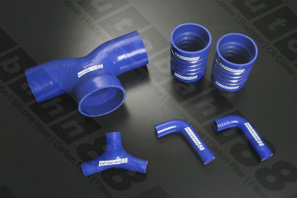 Autobahn88 Silicone Intake Hose kit for Ferrari F355 3.5 L 1994-1999 Blue - ASHK190-B