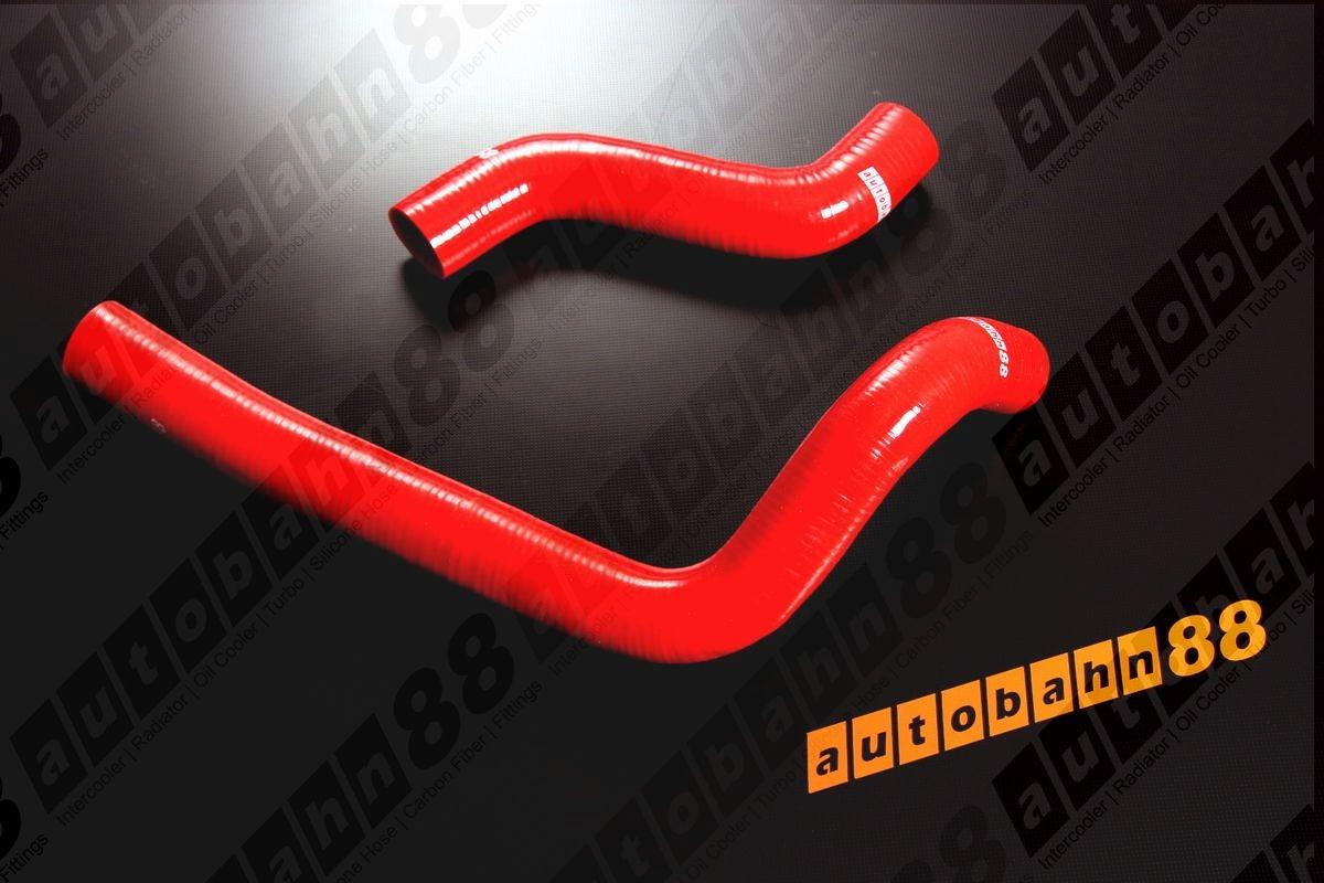 Autobahn88 Silicone Radiator hose kit for Mazda RX7 FD3S Red - ASHK22-R