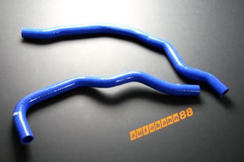 Autobahn88 Silicone Radiator hose kit for Honda S2000 Blue - ASHK27-B