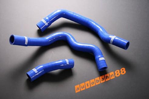 Autobahn88 Silicone Radiator hose kit for BMW Mini Cooper / S 2000-2005 Blue - ASHK30-B