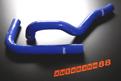 Autobahn88 Silicone Radiator hose kit for Toyota Soarer JZZ30 3.0TT 91-96 Blue - ASHK37-B