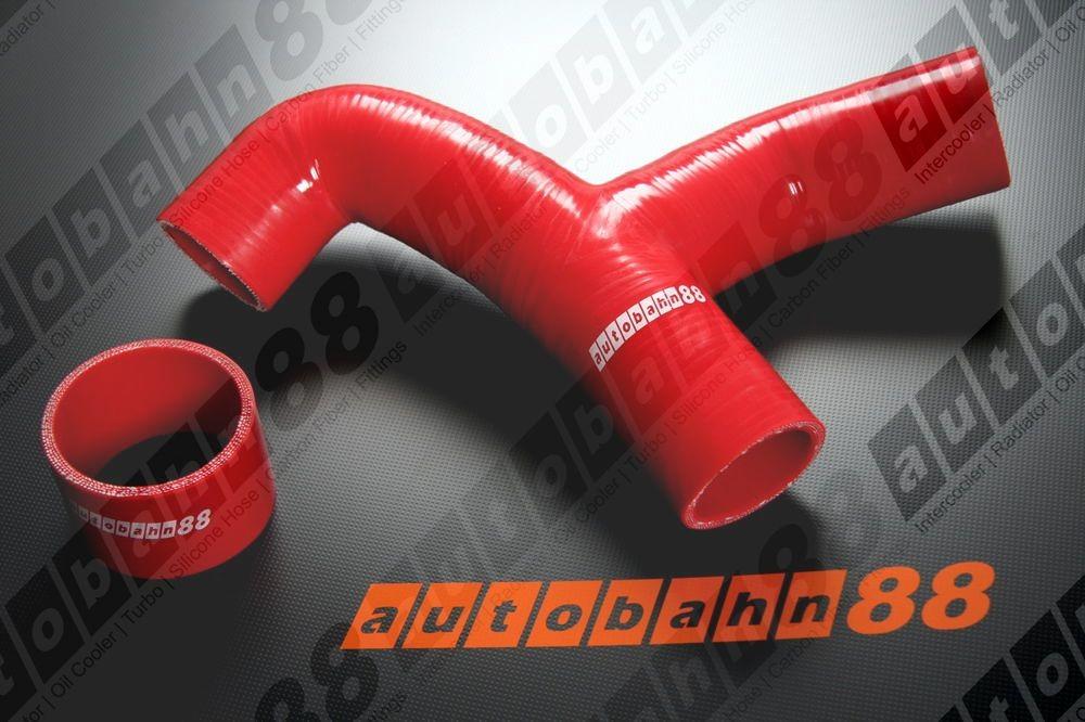 Autobahn88 Silicone hose Y- Pipe for Subaru WRX GC8 96-00 Red - ASHK40A-R