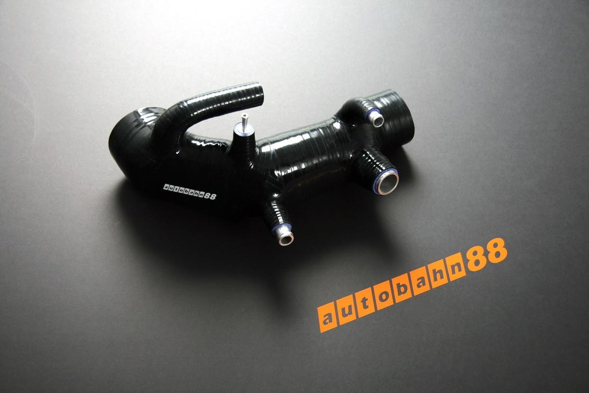 Autobahn88 Silicone induction intake hose kit for Subaru Impreza WRX / WRX STi GC8 96-98 Black - ASHK41-BK