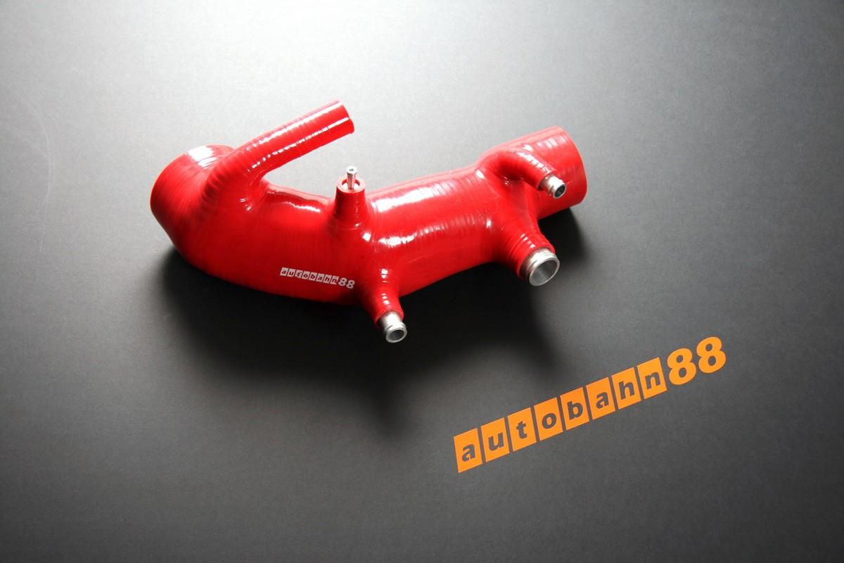Autobahn88 Silicone induction intake hose kit for Subaru Impreza WRX / WRX STi GC8 96-98 Red - ASHK41-R