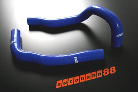 Autobahn88 Silicone Radiator hose kit for Toyota Mark II Chaser JZX100 VVTi (Blue) - ASHK65-B