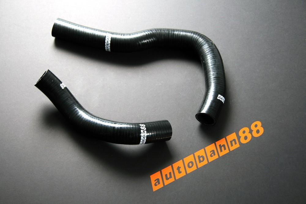 Autobahn88 Silicone Radiator hose kit for Honda DC5 Integra Type R Black - ASHK67-BK