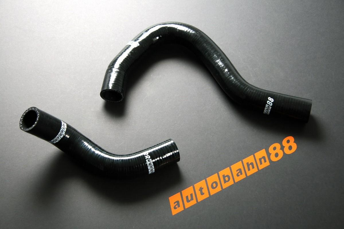Autobahn88 Silicone Radiator hose kit for Honda EP3 Civic Type R Black - ASHK68-BK