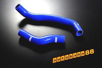 Autobahn88 Silicone Radiator hose kit for Mazda RX-7 FC Blue - ASHK70-B