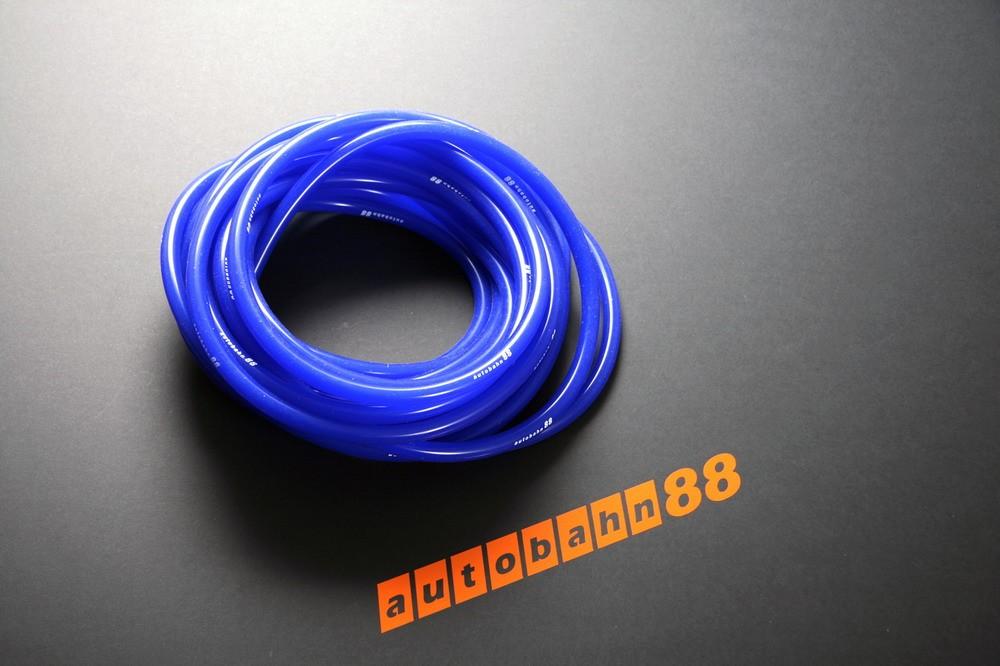 Autobahn88 4mm Silicone Vacuum Tube Hose 1 Meter Blue - ASHU06-4B