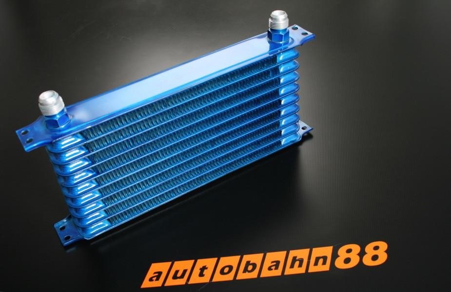 Autobahn88 Oil Cooler tank 10 rows 250x130x50mm core - CAOC02