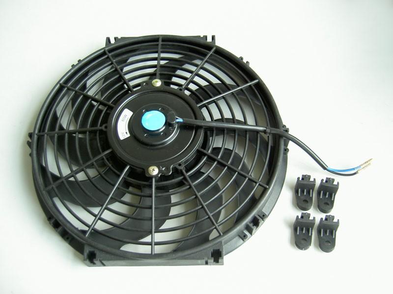 Universal Radiator Fan 16inch Bend Leaf Blade - CARF06b