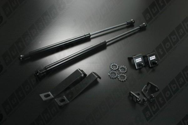 Bonnet Hood Strut Shock Support Damper Mazda 323 Protege Familia 4D Sedan 99-01 - Autobahn88 - DAMP16