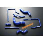 Autobahn88 Silicone Radiator Heater hose kit for Subaru Impreza WRX / WRX STi GC8 96-00 Blue - ASHK01-B