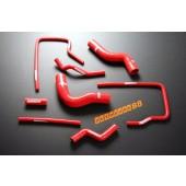 Autobahn88 Silicone Radiator Heater hose kit for Subaru Impreza WRX / WRX STi GC8 96-00 Red - ASHK01-R