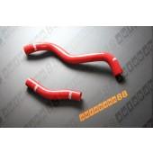 Autobahn88 Silicone Radiator hose kit for Mitsubishi Lancer Evolution I-III(1-3) Red - ASHK05-R