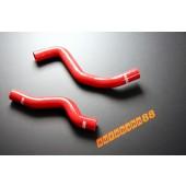 Autobahn88 Silicone Radiator hose kit for Mitsubishi Lancer Evolution VI(6) Red - ASHK07-R