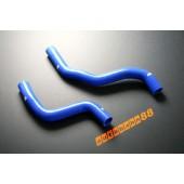 Autobahn88 Silicone Radiator Hose Kit for Mitsubishi Lancwr EVO 7-8 CT9A Blue - ASHK08-B