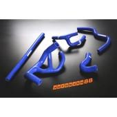 Autobahn88 Silicone Radiator hose kit for Rover Mini Cooper 1.3I Spi Blue - ASHK104-B