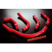 Autobahn88 Silicone Radiator hose kit for Toyota MR2 SW20 Red - ASHK105-R