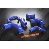 Autobahn88 Silicone Intercooler Hose kit for Mitsubishi Lancer Evolution 7-9 Blue - ASHK106-B