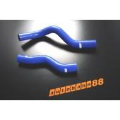 Autobahn88 Silicone Radiator Hose Kit for Honda New Civic FD1 Blue - ASHK113-B