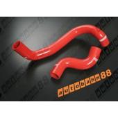 Autobahn88 Silicone Radiator hose kit for Nissan Primeraa P11 Red - ASHK115-R