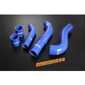 Autobahn88 Silicone Intercooler Hose kit for Mitsubishi Lancer Evolution 10 Blue - ASHK118-B