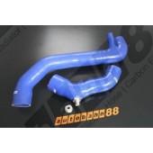 Autobahn88 Silicone Boost Kit - Turbo + Boost sensor Renault 5GT with Dump valve adaptor Blue - ASHK127-B