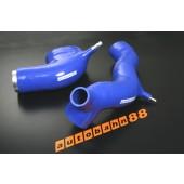 Autobahn88 Silicone Induction pipe for Mitsubishi Lancer Evolution 1-3 Blue - ASHK140-B