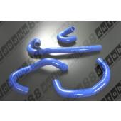 Autobahn88 Silicone Heater hose kit for Nissan Skyline R33/34 GT-S GT-T RB25DET Blue - ASHK148-B