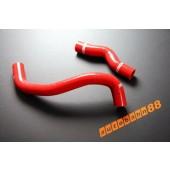Autobahn88 Silicone Radiator hose kit for Nissan Silvia S15 sr20det 200SX Red - ASHK19-R