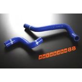 Autobahn88 Silicone Radiator hose kit for Nissan Pulsar Gti-R RNN14 Blue - ASHK20-B