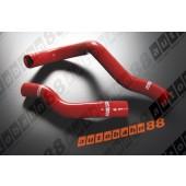 Autobahn88 Silicone Radiator hose kit for Toyota Supra JZA80 NA 3.0 Red - ASHK34-R