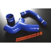 Autobahn88 Silicone hose Y- Pipe(non Sti) for Subaru WRX GDB 00-07 Blue - ASHK40-B