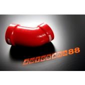 Autobahn88 Silicone Cold Intake Pipe for Porsche 996 98-02 Red - ASHK50-R