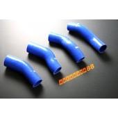Autobahn88 Silicone Intercooler hose kit for Nissan Fairlady 300ZX Z32 Blue - ASHK52-B