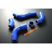 Autobahn88 Silicone Intercooler hose kit for Toyota Supra JZA80 VVTi 96~~ Blue - ASHK55-B