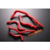 Autobahn88 Silicone Radiator hose kit for Honda Civic Integra EK / DC Type R Red - ASHK57-R
