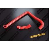 Autobahn88 Silicone Radiator hose kit for Nissan Z32 300ZX VG30DETT Red - ASHK63-R