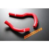 Autobahn88 Silicone Radiator hose kit for Honda DC5 Integra Type R Red - ASHK67-R