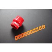 Autobahn88 89mm 3.5inch Silicone Hump Hose Red - ASHU05-89R